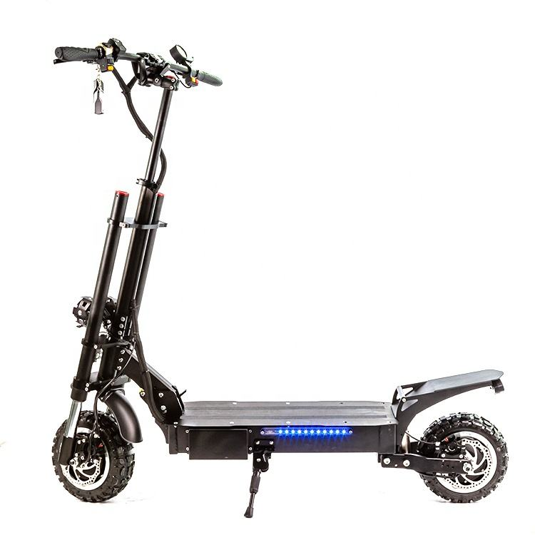 Halo Knight Best 60V 5600W High Speed Folding Powerful Scooter Electric Motorcycle For Adult