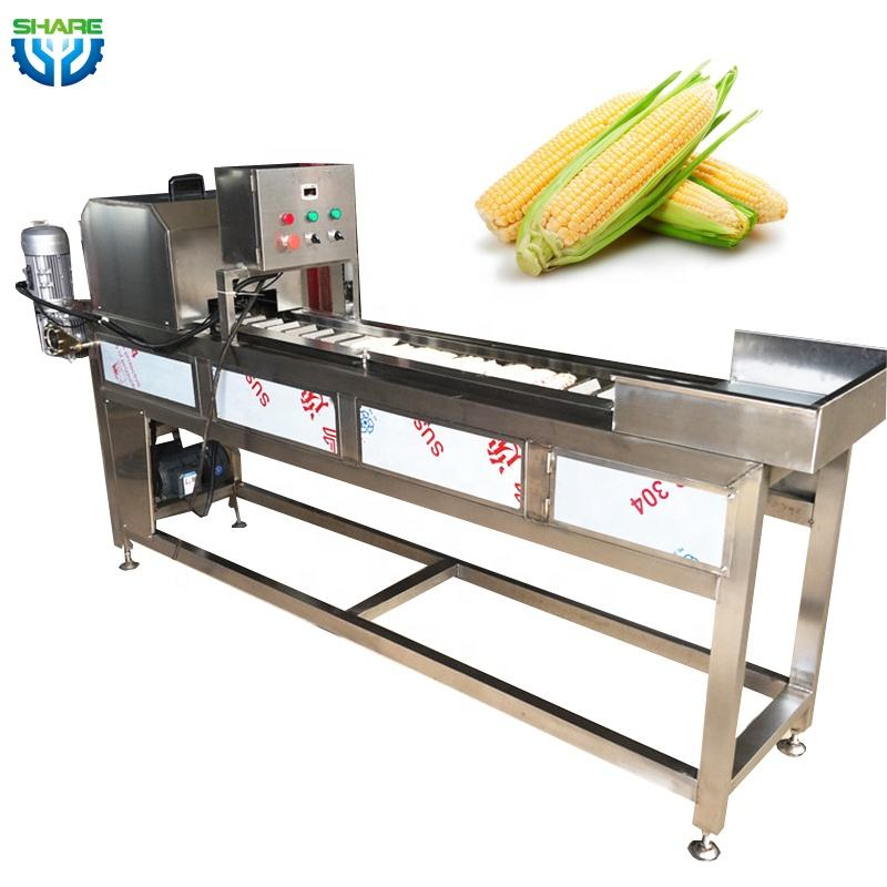 Corn Carrot Section Halb schneide <span class=keywords><strong>maschine</strong></span> Sweet Corn Cob Cutter Machine