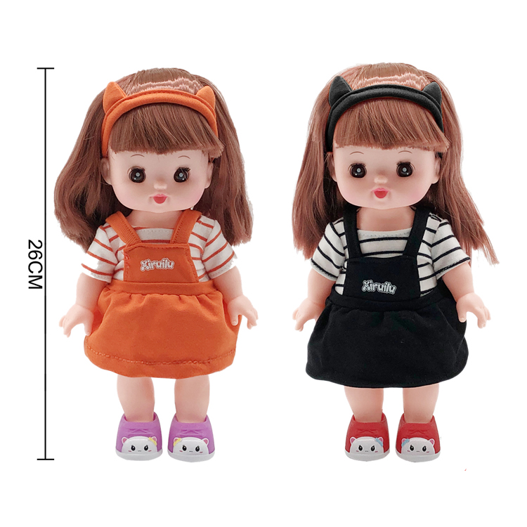 10-Inch Princess Lovely Dolls Toys for Kids Marina Suit Fashion Doll Girls Toys