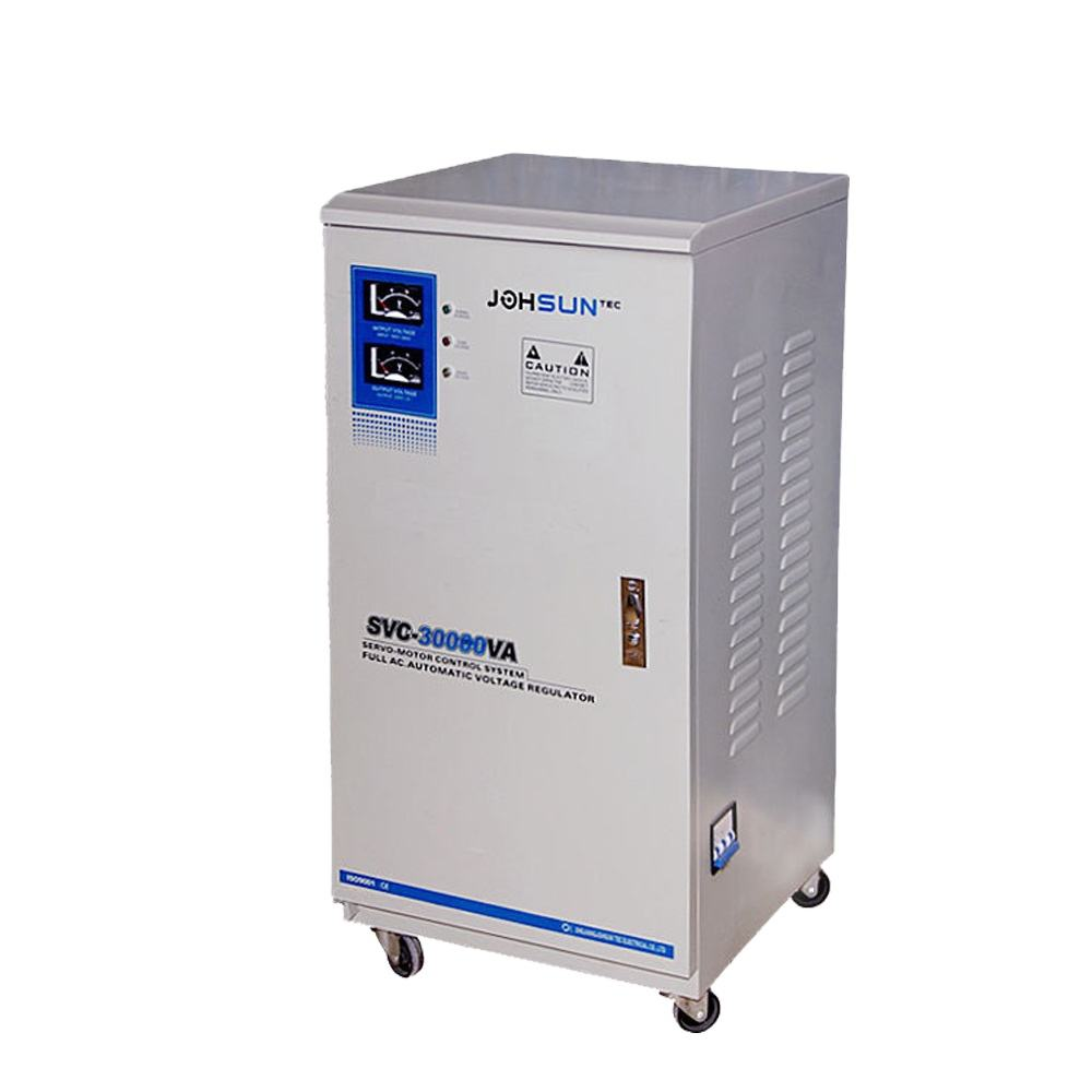 SVC 10KVA servo motor type single phase ac automatic voltage regulator for test instrument in school
