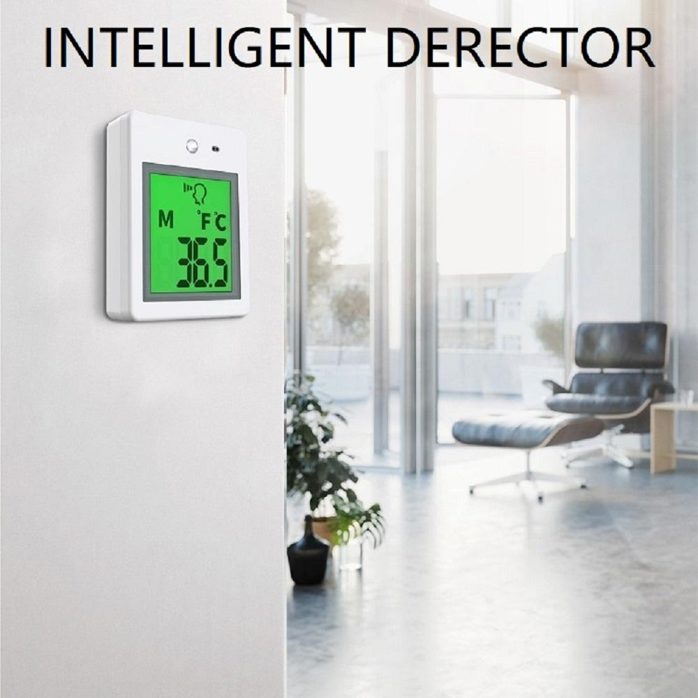 Lean design thermal temperature camera multi-function intelligent temperature kiosk