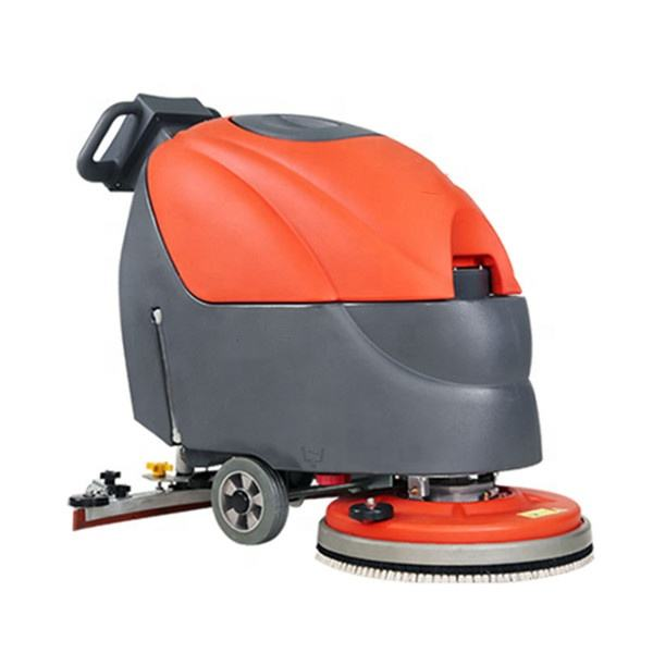 T3 High Quality Battery Walk Behind Small Floor Scrubbing Sweeper Machine For Sale