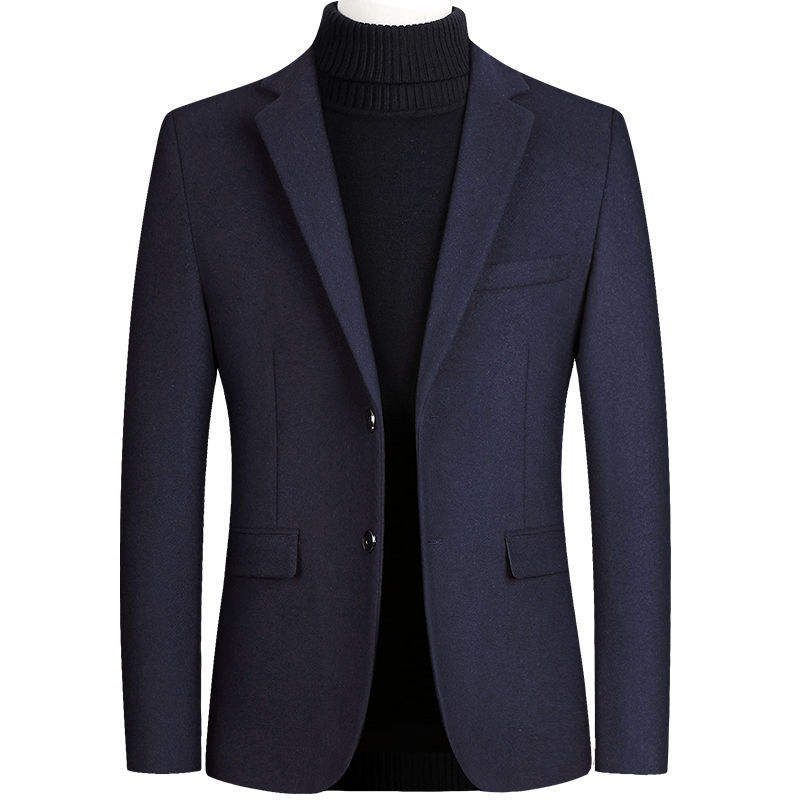 New fashion multi colors single breasted pockets blazer men woolen formal wedding business suit men's casual suits L556
