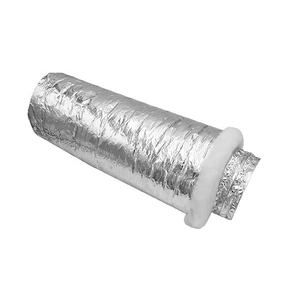 hvac system china suppliers environmental friendly aluminum foil polyester flexible insulated duct