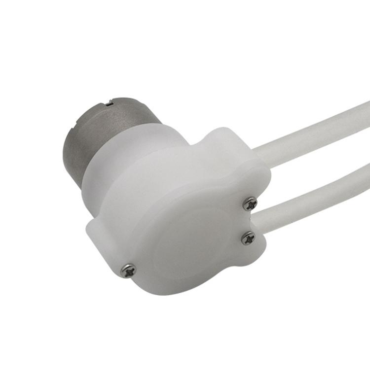 Silent Operation Gear Liquid Pump Micro Peristaltic Pump Pure Copper Battery Mini Water Pump 310 For Massage