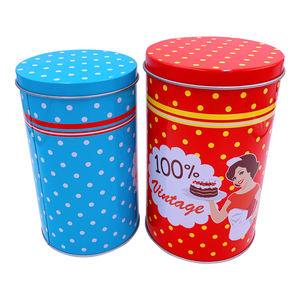 High quality round tin box with competitive price