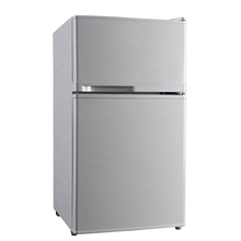 High quality mini Double Door Electric Refrigerator/fridge