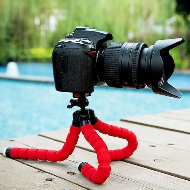 2020 New latest hot selling Flexible Octopus Bubble Tripod Holder Stand Mount for Mobile Phone / Digital Camera phone holder