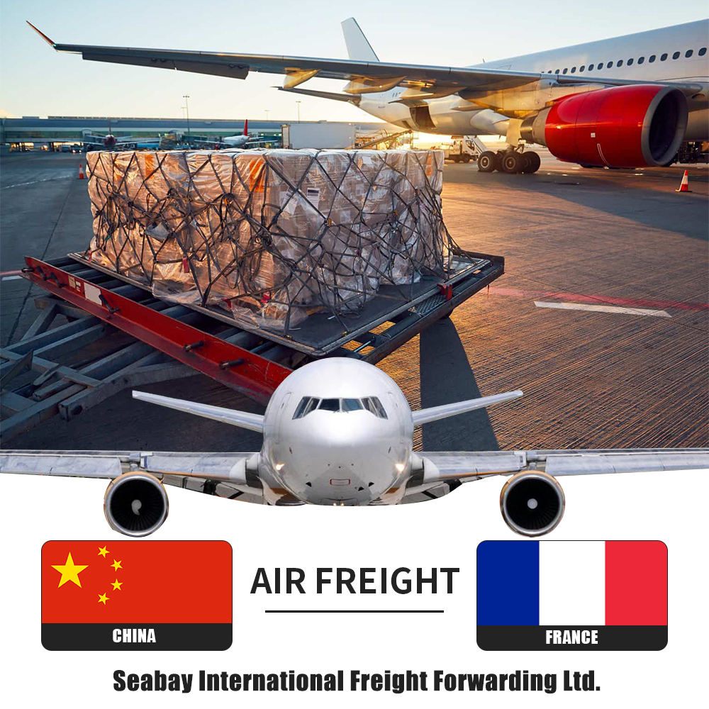 professional air freight forwarder shipping cost rate from china to france Marseille Paris Lyon