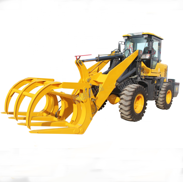Grass Wood Clamp Loader Grass grasper mini loader
