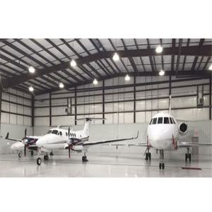 LF steel structure airplane aircraft hangar for sale prefabricated