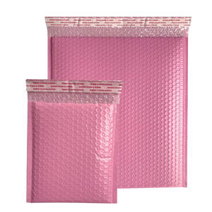 Custom Pink Water Proof Shock Resistance Recycling Mailing Padded Envelope Mailing Courier Mailer Postal Satchels Bubble Mailers