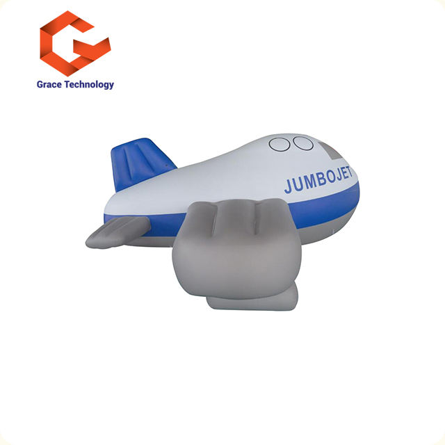 Advertising Equipment Custom Made Inflatable PVC Airship / Helium Blimp Outdoor / Inflatable Blimp For Sale