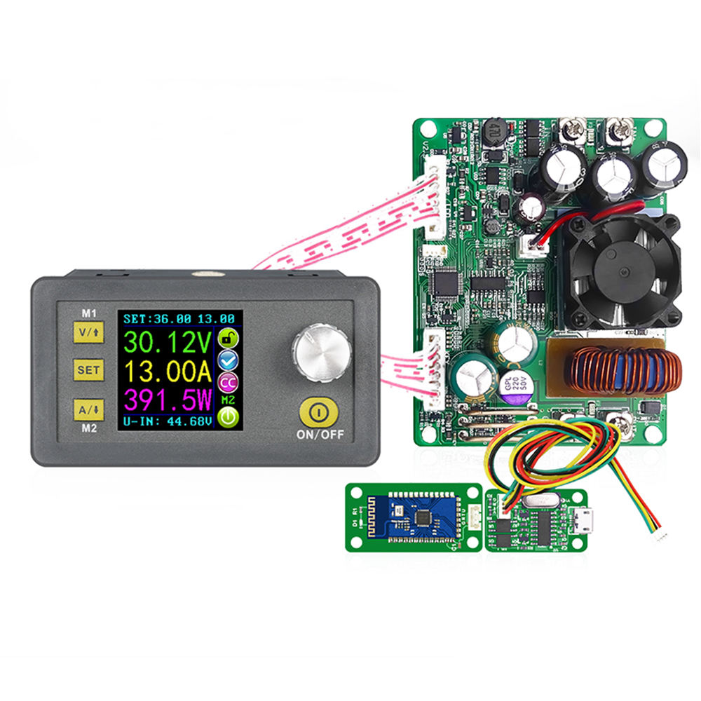 DPS5015 Programmable DC DC Step-Down Tegangan Otomatis <span class=keywords><strong>Regulator</strong></span>/Stabilizer Converter 60V 15A 750W power Supply