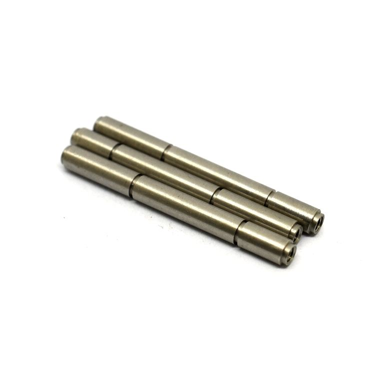 Custom precision hardened steel linear small shaft polishing stainless steel knurled shaft
