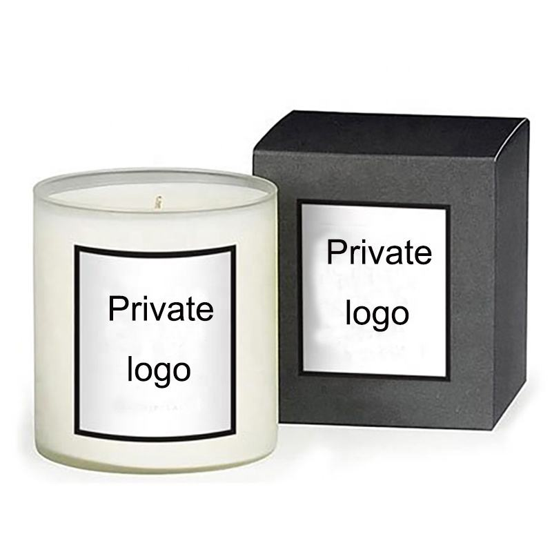 Private label luxury scented candles