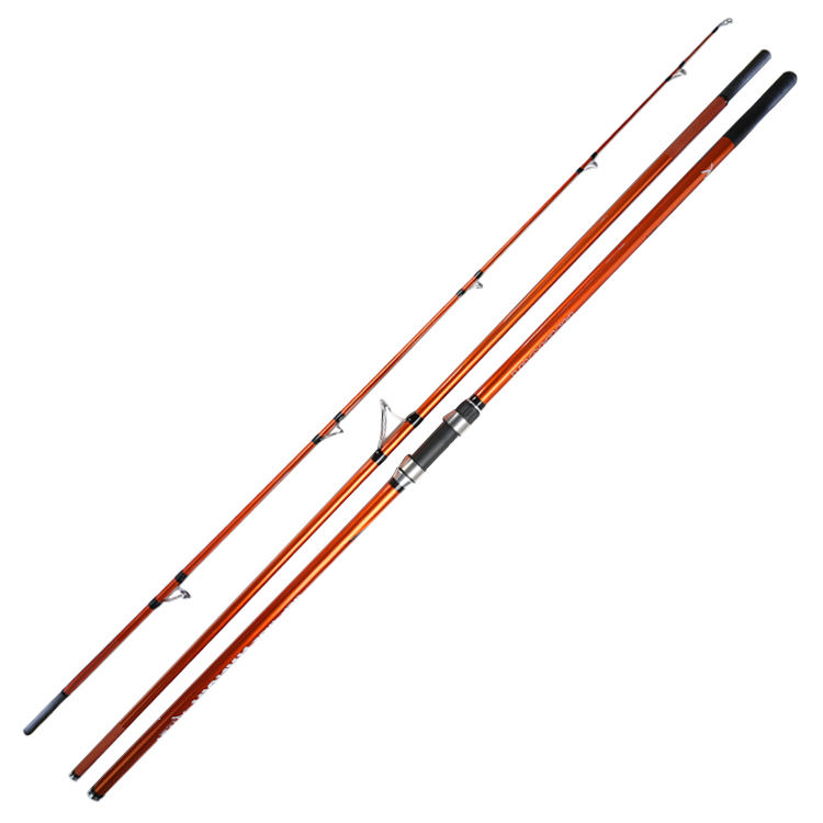 Newbility canne a peche varas de pesca oem 420cm sea water boat carbon telescopic fishing rods