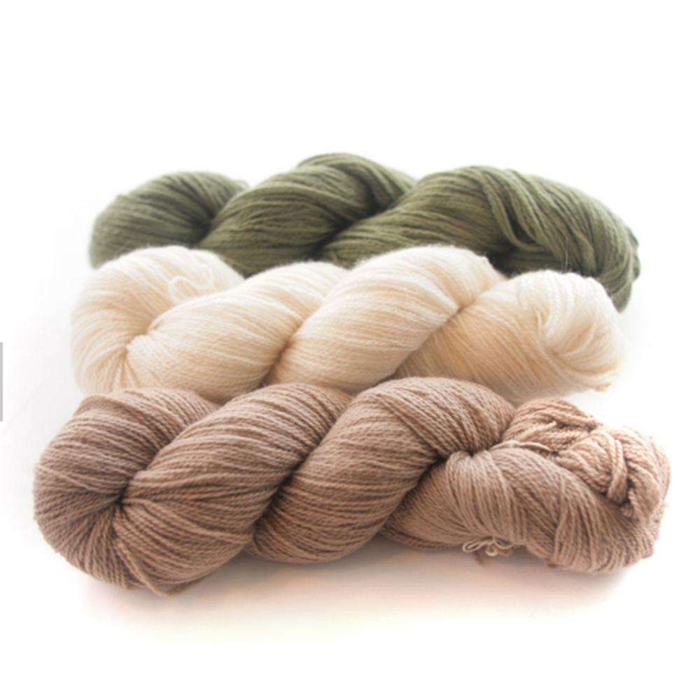 Worsted super soft 100 cashmere hand knitting yarn for baby