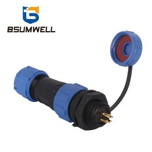 New Arrival Electric Bike Industrial IP68 Waterproof 2 Pin Connector dc db9 bnc Waterproof Cable Connector