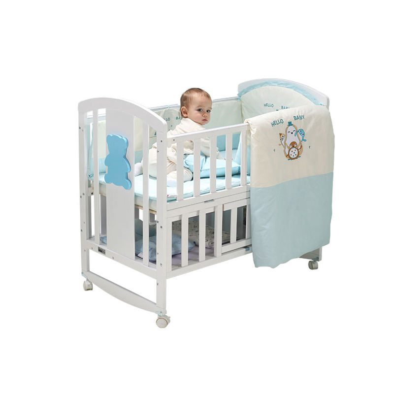 <span class=keywords><strong>Designer</strong></span> Tweeling Houten Peuter <span class=keywords><strong>Cot</strong></span> <span class=keywords><strong>Bed</strong></span>, Factory Best Selling Dubbele Houten Babybedje/