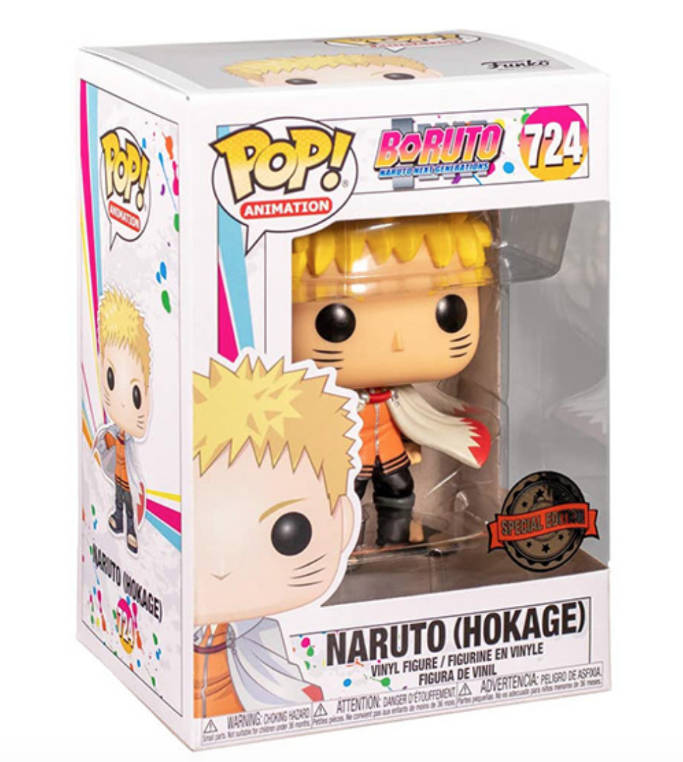 Figurine d'anime <span class=keywords><strong>Naruto</strong></span> (hodissipateur), Funko Pop Shippuuden, version lumineuse, modèle de Collection, nouvelle Collection
