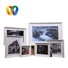 Double 100 Marcos De Fotos Photo Frames Set Wall  Art Cuadros Decorativos Cadre Photo