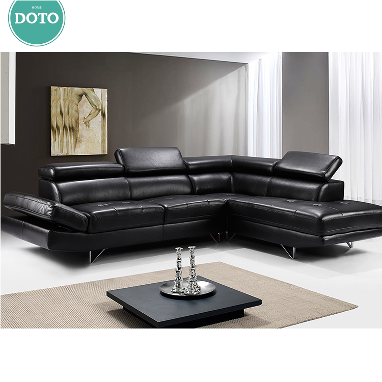 Factory Wholesale Latest Stylish Living Room Modern Chesterfield Furniture Design Fabric Corner Sofa