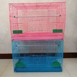 Wholesale indoor house shape wire pet crate bird  breeding cages