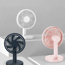 2020 new design mini fan cooler usb bathroom rechargeable stand battery desk table fan