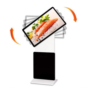 43 pouces support multitouch LED kiosque rotatif