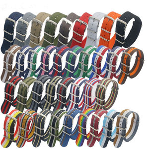 WYGICOO Pattern Bulk 20mm 22mm 23mm Nylon Custom Nato Watch Straps