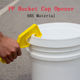 Useful Wide Mouth Bucket Open-end wrench Plastic Bucket Pail Paint Can Lid Opener Opening Tool Home