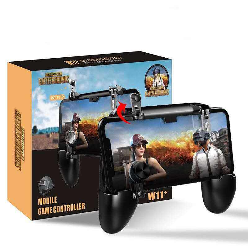 W11+ PlayerUnknown's Battlegrounds Game Handle Eating Chicken Button Physical Assisted Shooting Joystick Game Controller