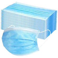 Cheap Personal Protection 3Ply Earloop Face Mask Disposable Dust