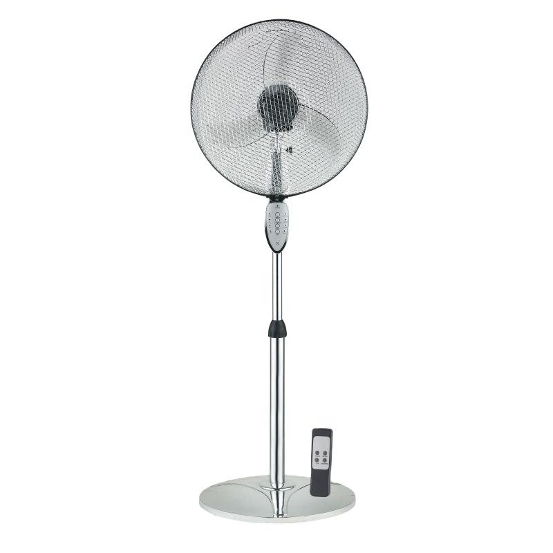 16 Inch wholesale high speed price ventiladores de pie oscillating tower plastic remote control steel electric best stand fan