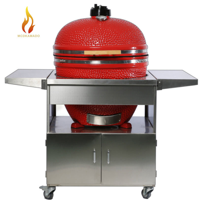 29 Inch <span class=keywords><strong>Bbq</strong></span> Grill & Kamado <span class=keywords><strong>Bbq</strong></span> Grill Met Roestvrijstalen Tafel