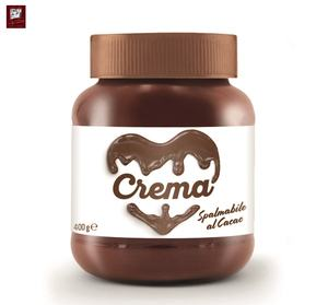 400 g Hazelnut Spread Chocolate Giuseppe Verdi Selection GVERDI chocolate