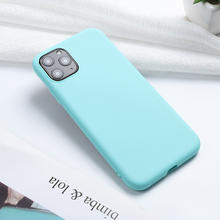 Cassky Anti-knock Candy Color Soft TPU Phone Case for iPhone 11 Pro Max