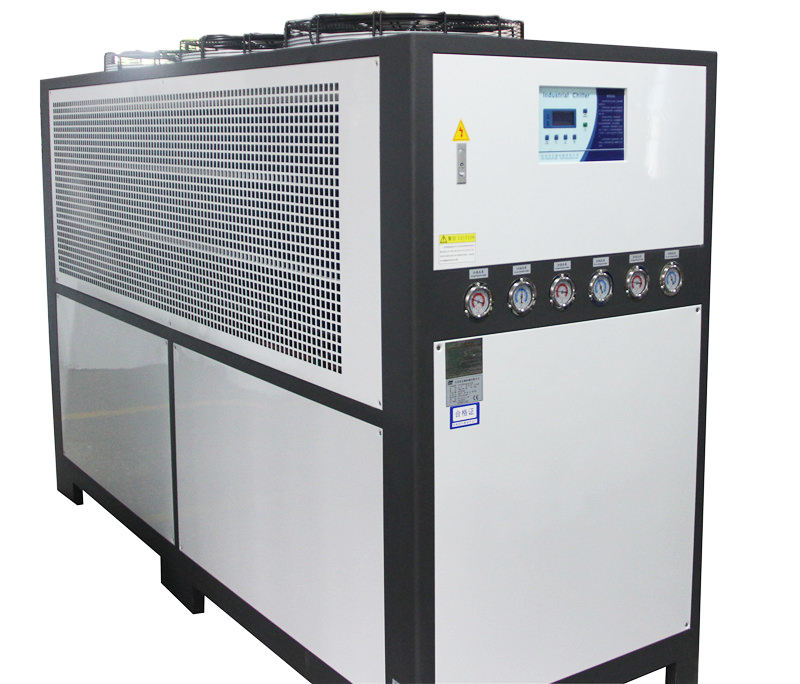 75KW new type industrial air chlling machine air cooled chiller