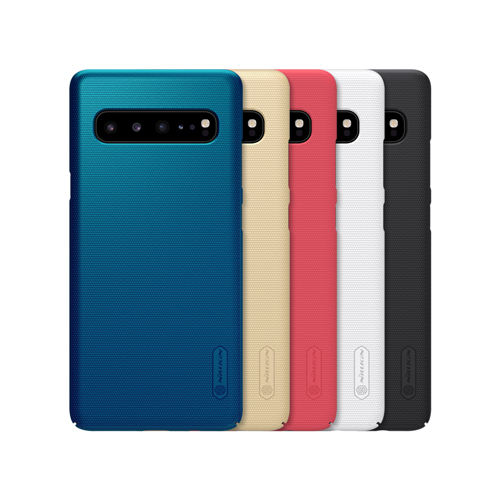 NILLKIN Super Frosted Shield voor Samsung Galaxy S10 5G mobiele telefoon geval