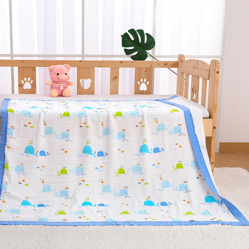 100% cotton soft printed baby fabric