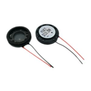 18mm 32ohm 0.25W Plastic Frame Cellphone Micro Mylar Speaker Full Range Small Micro Speaker for Medical Device FUET
