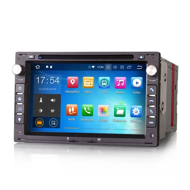 2020 CD Stereo Erisin ES7986V 7 Polegadas Android 9.0 Carro Para VW Polo Golf Bora Assento Peugeot 307 DAB GPS CD