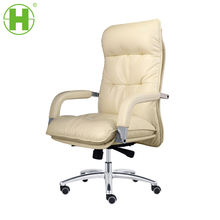 866-2A Hot selling Boss chair  PU/ Leather covered on seat, and PU on back office chair
