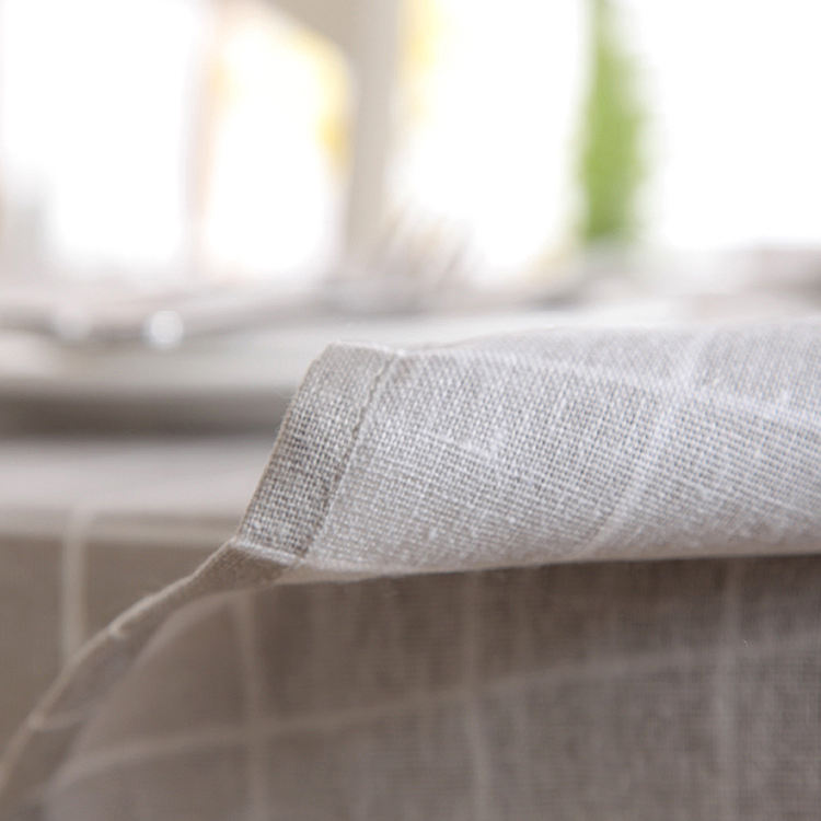 China supplier custom print cotton tablecloths for restaurant