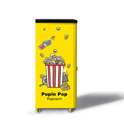Fully Automatic Commercial popcorn Vending Machine with 2020 New Style