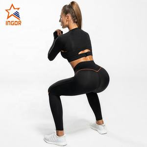 Work out apparel woman brazilian leggings set high quality yoga active wear for womens workout sport yoga gym fitness clothes