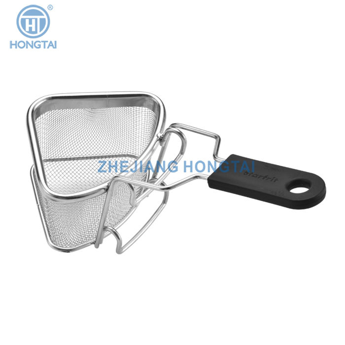 Stainless steel colander with steel handle/stainless steel strainer