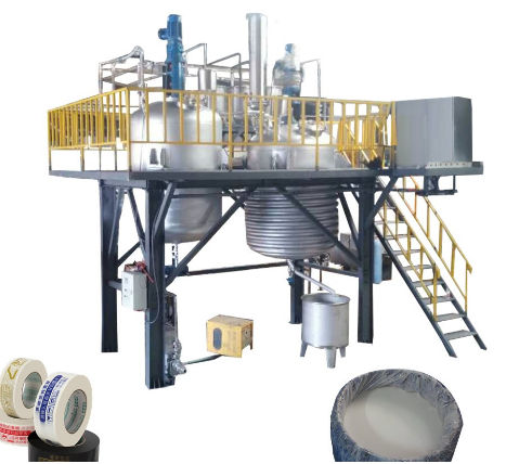 water based acrylic pressure sensitive adhesive glue production line reactor/making machine
