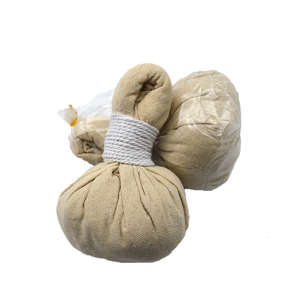 Big Size Herbal Massage Ball Thailand Reduce Pain Relax Remove Body Moisture Herbal Ball Thailnd